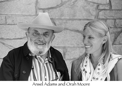 ansel adams and orah moore